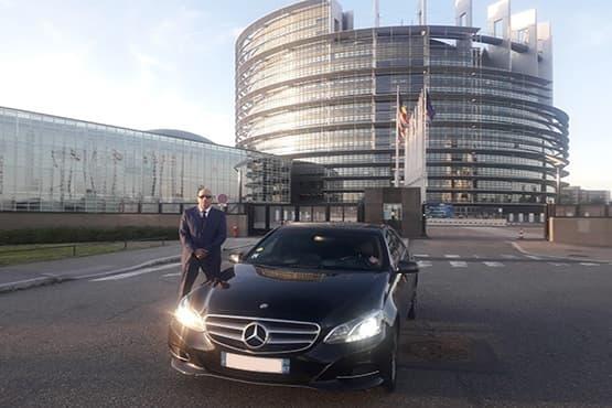 Votre service de déplacements dispinible avec chauffeur privé à Strasbourg